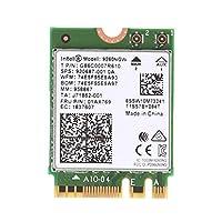 Baoyouls ネットワークカードワイヤレスネットワークカードIntel Wireless-AC 9260NGW Bluetooth NGFFデュアルバンド802.11ac 1730M WiFiカード