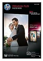 HP Premium Plus Glossy Photo Paper-25 sheet/10 x 15 cm
