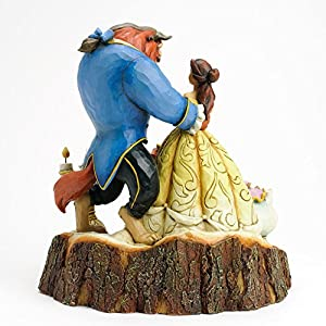 Enesco Disney Traditions by Jim Shore Beauty and the Beast Figurine, 7.75-Inch [並行輸入品]