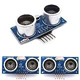 HiLetgo® 3個セット HY-SRF05超音波距離センサモジュール測定センサモジュール Arduinoに互換 [並行輸入品]