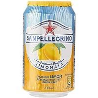 Sanpellegrino (サンペレグリノ) レモン リモナータ  微炭酸 330ml×24本 並行輸入品