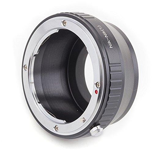 (バシュポ) Pixco マウントアダプターNikon レンズ-Nikon 1 カメラ対応 (Nikon-Nikon 1) J5 S2 J4 V3 AW1 S1 J3 J2 J1 V2 V1