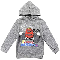 Blaze and the Monster Machines Little Boys' Pullover Hoodie, Gray