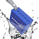 Esonstyle ポータブルBluetooth V4.0+EDRスピーカー、ミニスポーツワイヤレススピーカー 高音質ハンズフリー マイク内蔵/防水IPX6認証 アウトドアスピーカー