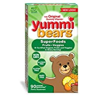 海外直送品 Yummi Bears (Hero Nutritional Products) Yummi Bears Whole Food, 90 Bears