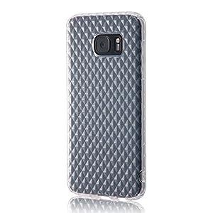 レイ・アウト Galaxy S7 edge ケース TPUソフトケース キラキラ クリア RT-GS7EC7/C