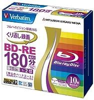 Verbatim Blu-ray Disc 10 Pack - BD-RE 25GB 2X - 2011 [並行輸入品]