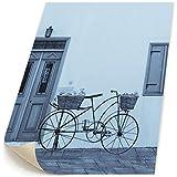 自転車 北欧 キャンバス 装飾 油絵 塗り絵 ホームデコレーション