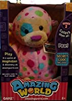 Amazing World Series 2 Pearl the Monkey Interactive Plush Toy - 5.5 [並行輸入品]