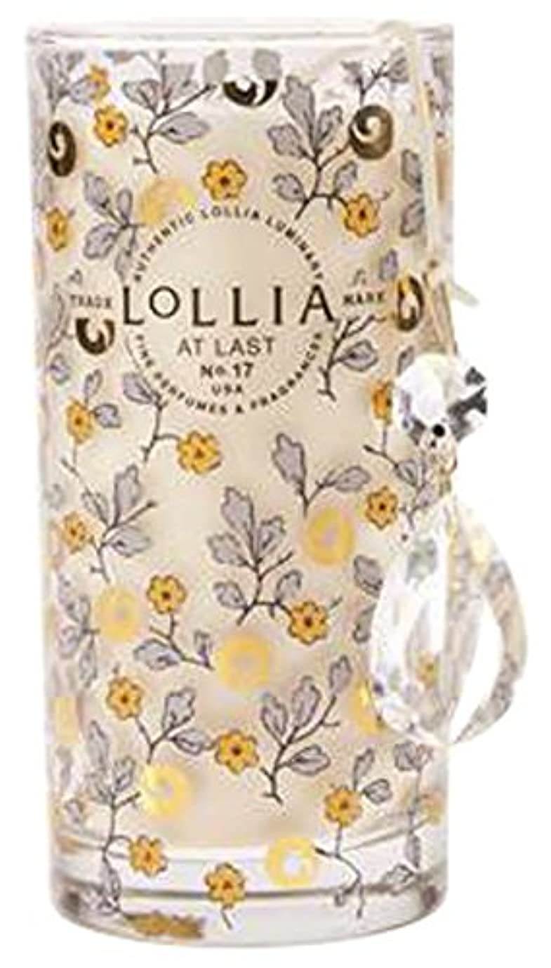 死の顎建築アクロバットロリア(LoLLIA) プティパフュームドルミナリー290g AtLast(チャーム付キャンドル ライスフラワー、マグノリアとミモザの柔らかな花々の香り)