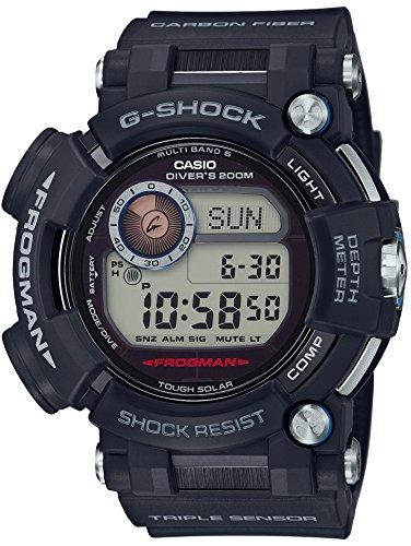 [カシオ] 腕時計 ジーショック フロッグマン 世界6局対応電波ソーラー GWF-D1000-1JF ブラック