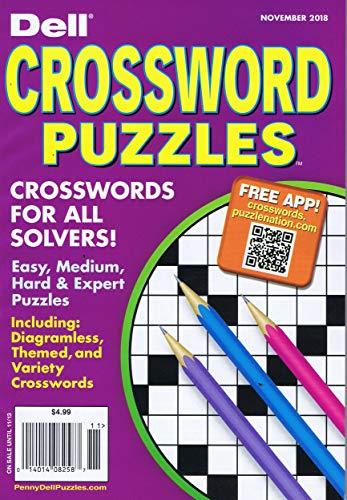 Dell Pocket Crossword Puzzle [US] November 2018 (単...
