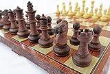 Best チェスボード - 折りたたむと中にコマを収納できるチェスボード チェッカー (中) 【並行輸入品】 Review