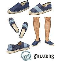 (ソルドス) soludos デニムエスパドリーユシューズ/スリッポン/靴/メンズ [並行輸入品]