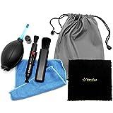 【Ventlax】 カメラ クリーニング キット レンズ お手入れ 6点セット ( クリーナー レンズペン ブロアー など) 初心者 〜 上級者 まで対応