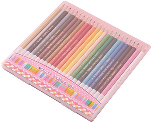 レイメイ藤井 色鉛筆 24色 先生おすすめ ピンク RE142