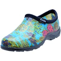 Sloggers Women's Waterproof Rain and Garden Shoe with Comfort Insole, Midsummer Blue, Size 9, Style 5102BL09
