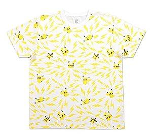 ポケモンセンターオリジナル graniph Tシャツ ピカチュウパターン M