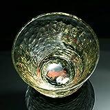 京焼き絵付け 冷酒グラス 金魚 GL-036