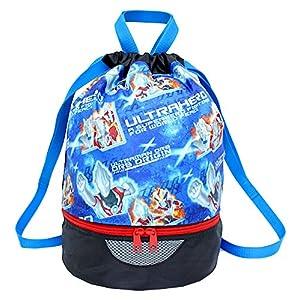 高波クリエイト ウルトラヒーロー プールバッグ ビーチバッグ 水着バッグ ボンサック ブルー 070811