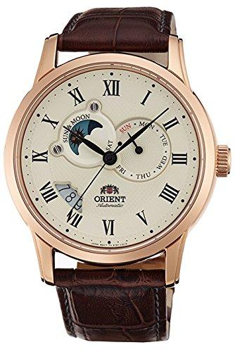 [オリエント]ORIENT 腕時計 自動巻 クラシックオートマチック 海外モデル 国内メーカー保証付き Sun&Moon(サン&ムーン) ホワイト SET0T001W0