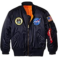 Alpha Industries Big Boys' NASA MA-1 Bomber Jacket