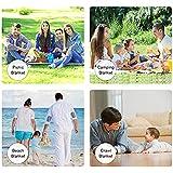 ピクニック毛布ポータブル折りたたみ式屋外ビーチマットピクニックマット防水サンドプルーフピクニックラグマット家族の日中、旅行 (Size : 200*150cm)