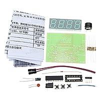 Sndy 5個5V Diyデジタル電圧計温度計キット電子生産
