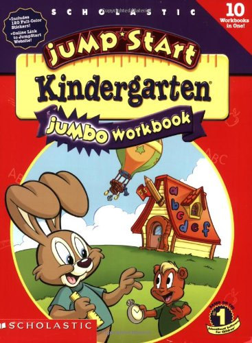Jumpstart Kindergarten Jumbo Workbookの詳細を見る