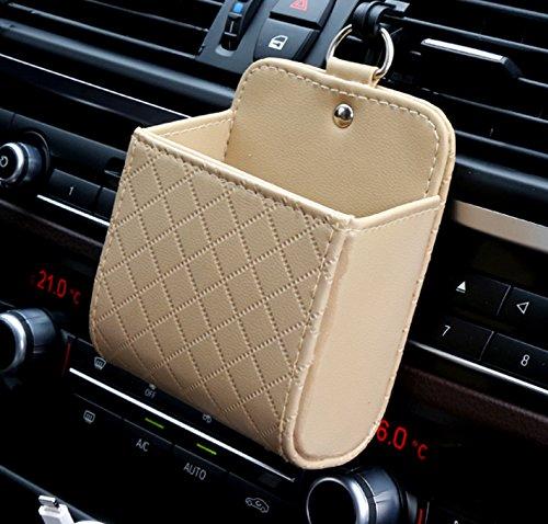 Carejoy車オートシートバック内部空気ベント携帯電話ホル...