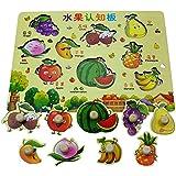ジャンボノブ木製パズルキッズジグソーパズルパズルボードおもちゃ教育と学習#663