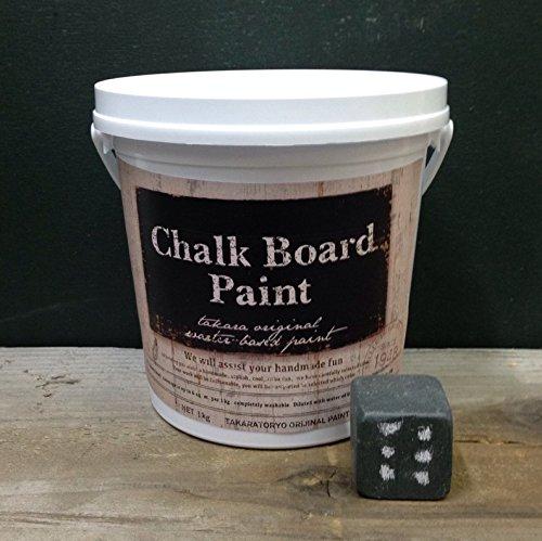 RoomClip商品情報 - TAKARA チョークボードペイント オリーブグレー 1kg