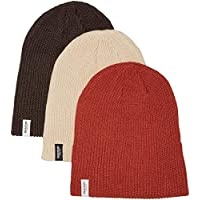 Burton Snowboards Men's DND Beanie 3 Pack Hat