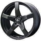 【レクサス CT(ZWA10 Fスポーツ)2011~】 ホイール:BLEST バーンズテック V-05_セミグロスブラック 7.5-19 5/100 タイヤ:MAXXIS Victra MA-Z4S 215/35R19 (19インチ アルミホイールセット)