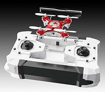 FQ777 Pocket drone ラジコンヘリコプター 室内用 ヘッドレスモード搭載 ミニクワッドコプター ミニマルチコプター ドローン リモート360°飛行 (ブルー)