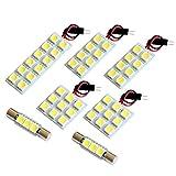 【断トツ156発!!】 VAB WRX STI LED ルームランプ 7点セット [H26.8~] スバル 基板タイプ 圧倒的な発光数 3chip SMD LED 仕様 室内灯 カー用品 HJO