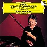 モーツァルト:ピアノ・ソナタ第8番・第10番・第11番《トルコ行進曲付》、幻想曲ニ短調K397