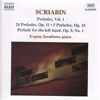 Preludes Vol 1 by SCRIABIN (2000-04-11)