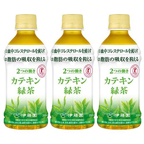 [トクホ]伊藤園 2つの働き カテキン緑茶 350ml×3本