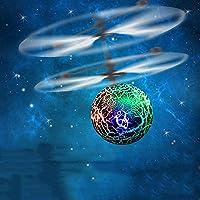 Springdoit クリスタルボールインテリジェントサスペンション誘導玩具航空機アドバンスドクラックパターンクワッド軸子供のおもちゃギフト(グリーン)