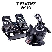 ThrustMaster ThrustMaster Full Flight Kit - T-Flight Hotas X + TFRP Rudder Bundle - Windows