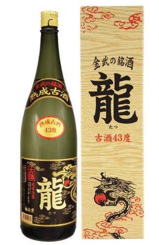金武 龍3年(100%)古酒 43度 1.8L