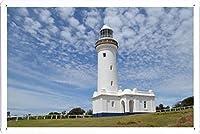 ノラ・ヘッド灯台1634のティンサイン 金属看板 ポスター / Tin Sign Metal Poster of Norah Head Lighthouse 1634