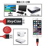Lightning iPhone hdmi変換ケーブル iphone iPadテレビ出力 音声同期出力 高解像度 lightning digital avアダプタ ライトニング HDMIアダプタ iOS11対応
