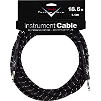 Fender ケーブル Fender® Custom Shop Cable, 18.6', Black