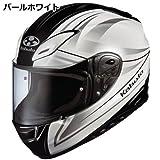 オージーケーカブト(OGK KABUTO) バイクヘルメット フルフェイス AEROBLADE3 LINEA (リネア) パールホワイト (サイズ:S)