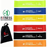 Cayman Fitness Premium Extra Wide Resistance Loop Bands. The Exercise Band Set Comes with 4 Heavy Duty Resistance Bands, Includes Downloadable Exercise Bands Guide and Online Video LibraryCayman Fitness [並行輸入品]