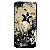 NCAA Vanderbilt Commodores Paulson Designs Spirit Case For Iphone 5?/ 5s、ブラック、ミディアム