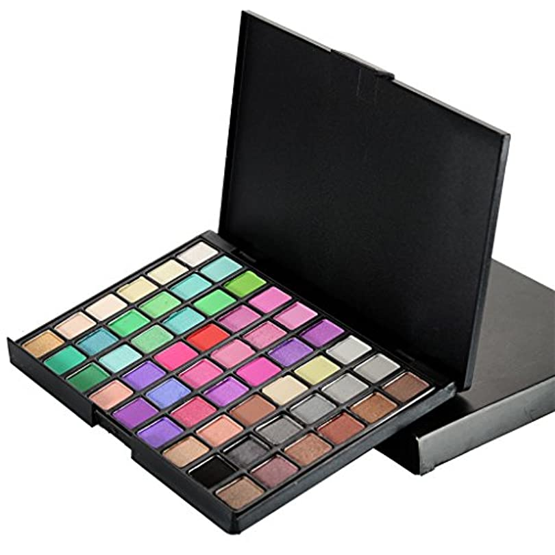 簡単に羽基礎理論54カラー化粧品パウダーアイシャドウマットシマーアイシャドウパレットメイク - #2