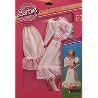 バービーDesignerコレクション' Afternoon Party ' Fashions wドレスのペア、下スカート& Boots ( 1982 Mattel Canada )
